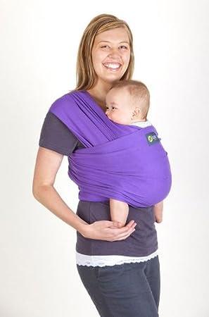 642a935bcec Boba Wrap - Das Jersey Baby Tragetuch - Bauchtrage PURPLE (ehemals Sleepy  Wrap)