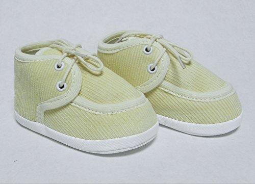 Taufschuhe Taufe Babyschuhe Sandalen Creme Gr.10-13 OM-307 (11cm)