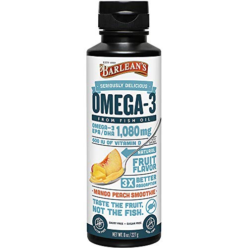 Barlean's Seriously Delicious Omega-3 Fish Oil