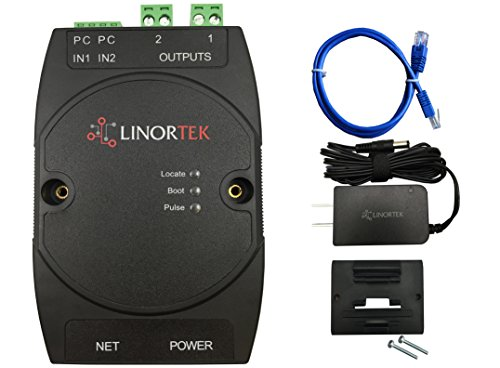 Linortek Netbell-2 TCP/IP Ethernet 2 Zone Bell Ringer Web-based Bell Controller for 110V 10A Alarm Signal Bell/Horn/Buzzer and Other Timed Equipment POE ()