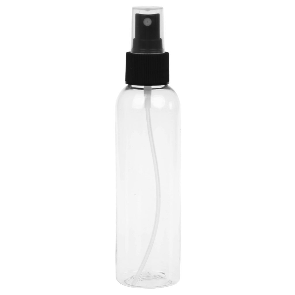 Lunji Beauty Zerstäuber Durchsichtig Plastik Parfümzerstäuber Leer Sprühflasche, 120ml - 200ml (150ml)