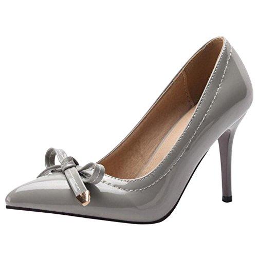Coolcept Zapatos de Tacon Alto Para Mujer Gray