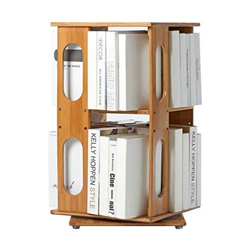 File Folder Racks & Holders Desktop Bookshelf 360 Degree Rotating Bookshelf Children's Bookcase Desktop Storage…