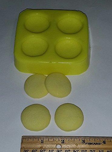 Vanilla Wafers Candle & Soap Mold- 4 cavity mold