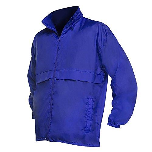chaqueta Modelo Unisex Impermeable Azul Cortavientos Fina Surf Sols Eléctrico z1UaAwa