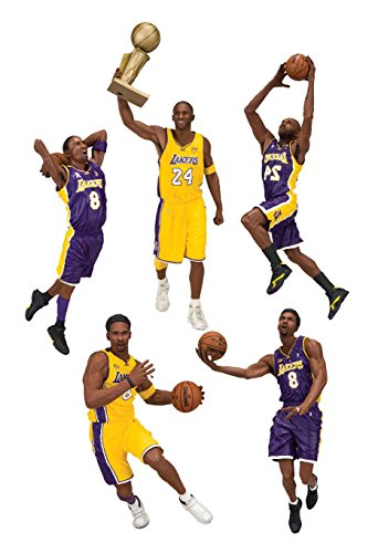McFarlane NBA Action Figures 18 cm Kobe Bryant Championship Assortment (10) Toys