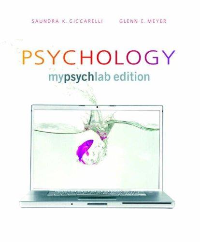 Psychology MyPsychLab Edition, Hardbound (Book Alone)