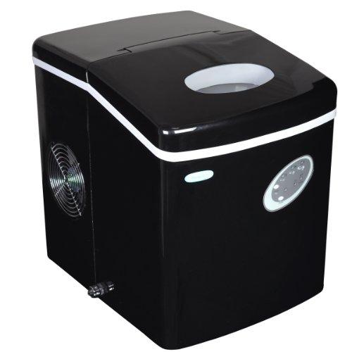 NewAir AI-100BK 28-Pound Portable Ice Maker, Black