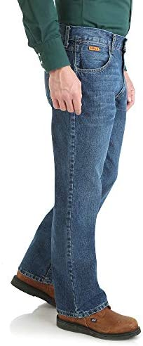 Wrangler Men's Fr Flame Resistant Slim Boot Jean