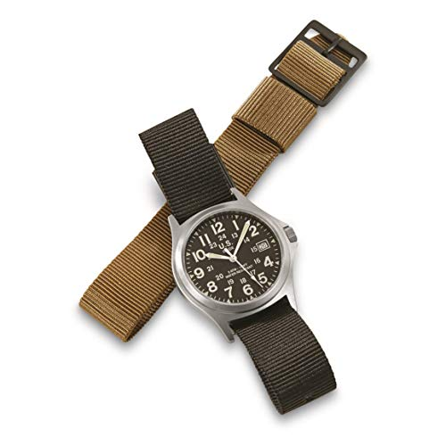 Military-Style Army Stainless Steel Watch