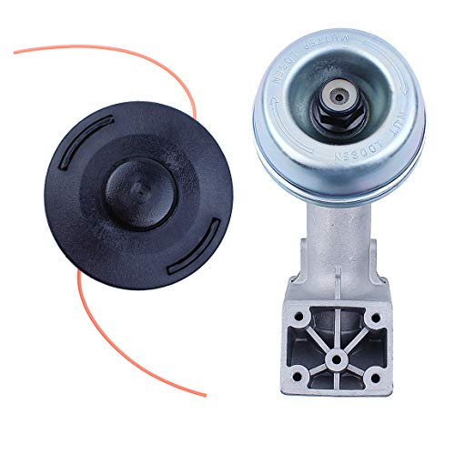 Haishine Trimmer Head Gearbox for STIHL FS45 FS48 FS50 FS51 FS55 FS60 FS74 FS76 FS80 FS83 FS85 FS90 FS100 FS106 FS120 Autocut 25-2 Line Trimmers