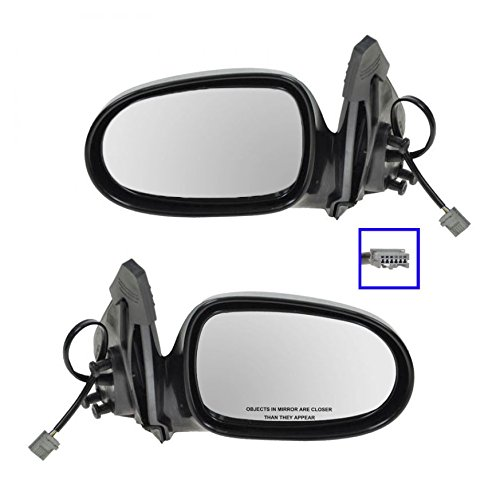 Power Side View Door Mirrors Left & Right Pair Set for 00-06 Nissan Sentra - Nissan Sentra Door Mirror
