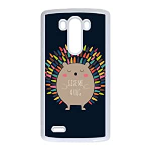 LG G3 Cell Phone Case White Give Me A Hug SEG Customized Unique Case