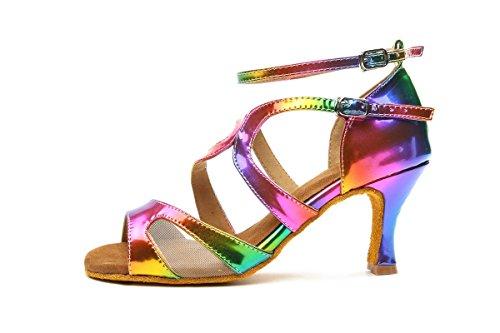 Minitoo , Sandales pour femme - - Multicolor-7.5cm Heel,
