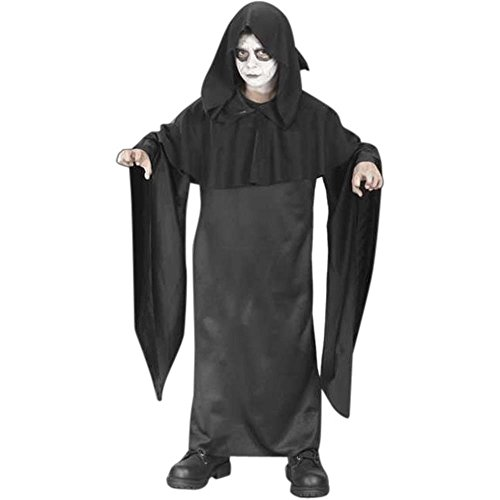 Dr Darkness Costumes (Kid's Dr. Darkness Grim Reaper Costume (Size: Large 12-14))