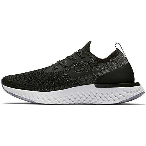 Platinum NIKE Black Multicolore Running React Dark Epic Scarpe Wmns Grey Flyknit Pure Black 001 Donna OwqrHOp