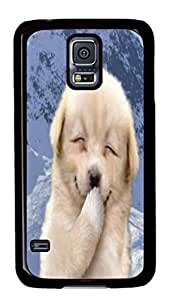 Personalized Making Unique Case Cover For Samsung Galaxy S5 Hard Plastic Back Phone Case PC Single Shell Skin For Samsung Galaxy S5With Lovely Bear