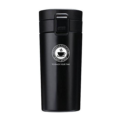 Jalan Coffee Mugs Double Walled and Leakproof V...