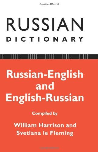 Russian Dictionary: Russian-English, English-Russian