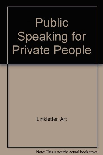Public Speaking for Private People
