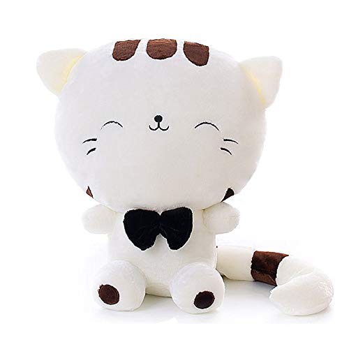 ERDAO Cat Plush Toy,Cats Stuffed Animals Cute Stuffed Kitten Kitty Doll for Girls (Beige, 15.7 inch)