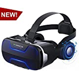 Virtual Reality Headsets VR Headset, VR SHINECON 3D VR Glasses for TV, Movies & Video Games - Virtual Reality Glasses VR Goggles Compatible with iOS, Android and Other Phones Within 4.7-6.0 inch