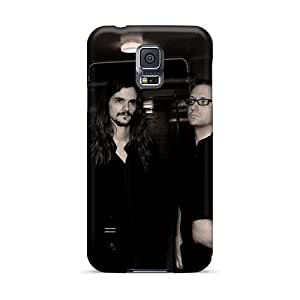 Perfect Hard Cell-phone Case For Samsung Galaxy S5 (JTR9848PklN) Unique Design Attractive Cryptopsy Band Image