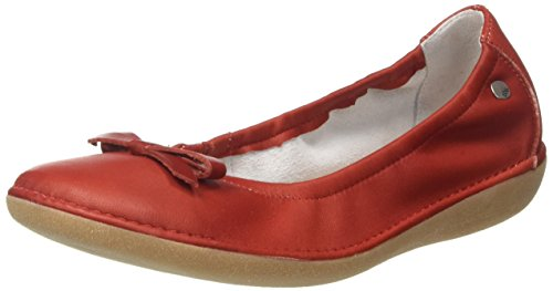 Blush Macash Closed G76 Ballet Rouge Red Toe TBS Women's Flats P6Oq4P