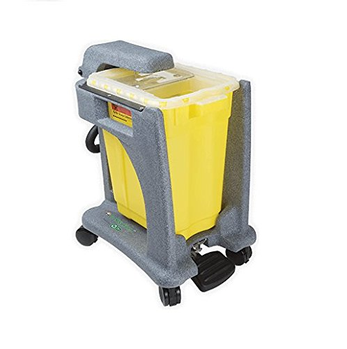 BD Medical Systems 305091 Recykleen Trolley, Foot-operated, 9 gal Capacity