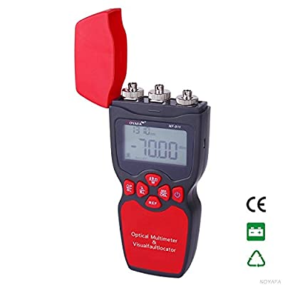 tekit NF-911-B Original NF-911 3-in-1 Handheld Optical Multimeter Optical Fiber Tester Optical Power Meter Visual Fault Locator Light source (not include battery)