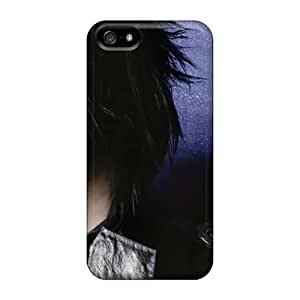 Iphone 5/5s MnR17902GVaC Custom HD Marilyn Manson Band Series Perfect Hard Phone Cover -MarieFrancePitre