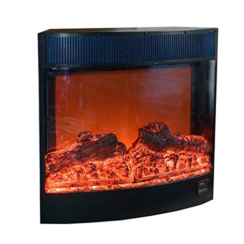 Cheap Liu Weiqin Electric Fireplace - Solid Wood Electronic Particles Fireplace/Curved Embedded Fireplace Real Fire/Length 800 Thick 180 Height 600mm Black Friday & Cyber Monday 2019