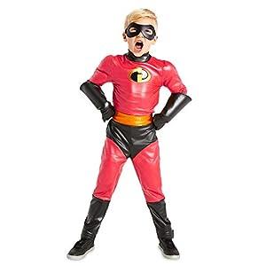 Disfraz de Dash para niños, Los increíbles 2, de Disney, color rojo