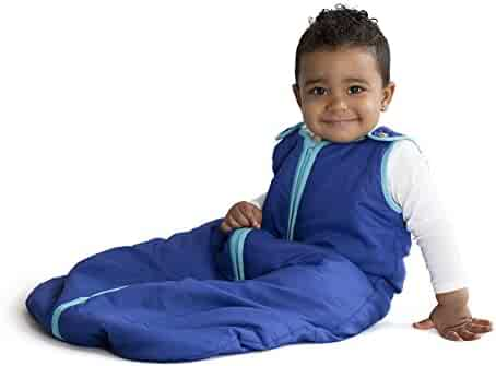 Baby Deedee Sleep Nest Baby Sleeping Bag, Peacock, Medium (6-18 Months)