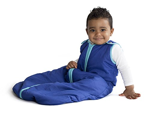 Baby Deedee Sleep Nest Baby Sleeping Bag, Peacock, Small (0-6 Months)