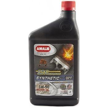 Amalie 75716 56 elixir 5w 50 full synthetic for 5w50 synthetic motor oil