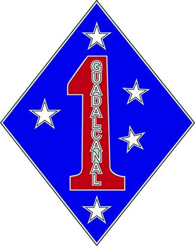 1st Marine Division CSIB - Combat Service Identification ()