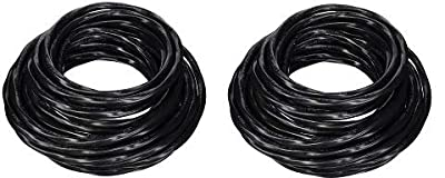 Southwire 63949232 50' 8/3 with ground Romex brand SIMpull residential indoor electrical wire type NM-B, Black