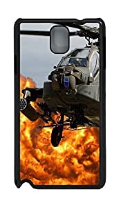 Samsung Note 3 Case Ah64 Apache Helicopter PC Custom Samsung Note 3 Case Cover Black