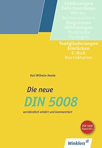 Die neue DIN 5008: Schülerband