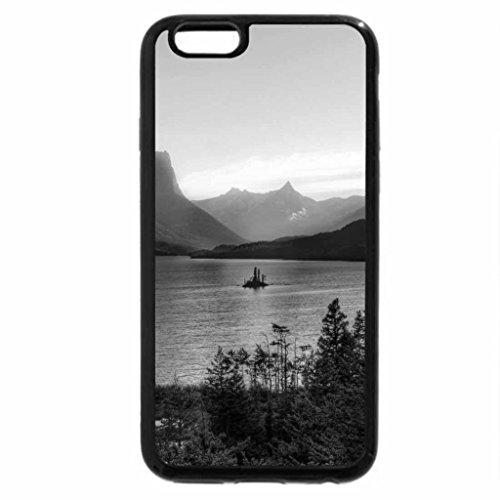 iPhone 6S Plus Case, iPhone 6 Plus Case (Black & White) - EXPERIENCE OF THE RIVER