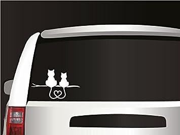 CMI184 Love of Cats Vehicle Funny Die Cut Vinyl Decal Bumper Sticker//Car Truck Windows