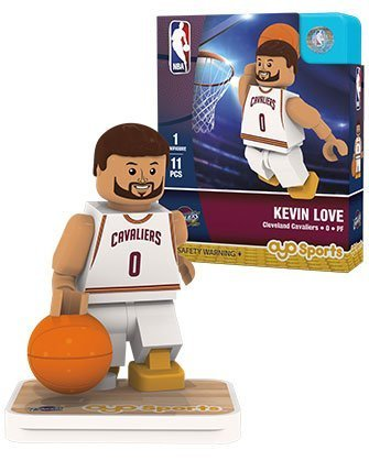 OYO Sports NBA Minifigure Cleveland Cavaliers Kevin Love