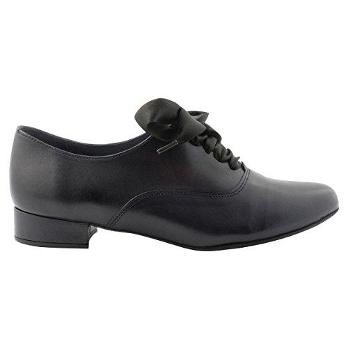 Paris Exclusif de Marino Para Cordones Zapatos Azul Mujer d88rCqS