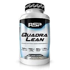 RSP QuadraLean Stimulant Free Fat Burner...