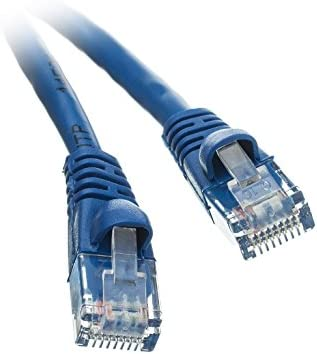 CNE497025 Snagless//Molded Boot 14 Feet Blue Cat5e Ethernet Patch Cable