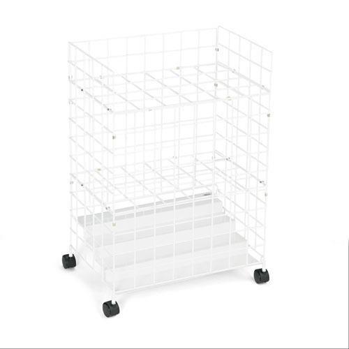 (SAF3088 - Safco 24 Compartments Wire Storage File )