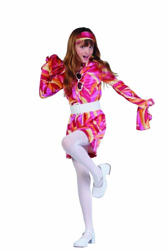 Slash Girl Costume (Child Medium (8-10) - Funky Go Go Girl Costume)
