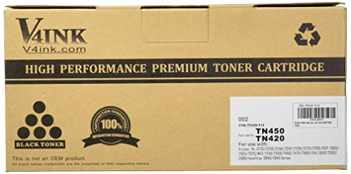 Generic 1 Pack Compatible TN450 TN 450 TN-450 TN 420 TN420 TN-420 Black Toner Cartridge For Brother HL-2280DW HL-2270DW HL-2240 MFC-7240 MFC-7860DW MFC-7460DN DCP-7065DN HL-2240D Printer from Generic