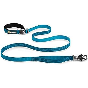 Ruffwear - Flat Out Hand-Held or Waist-Worn Dog Leash, Pacific Wave
